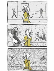 Regentropfen, fühlen, spüren, Einheit, Julia Lindenbaum