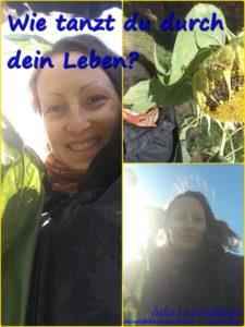 Julia Lindenbaum, TCM, QiGong, Lebensfreude, Harmonie, Sonnenblume, tanzen