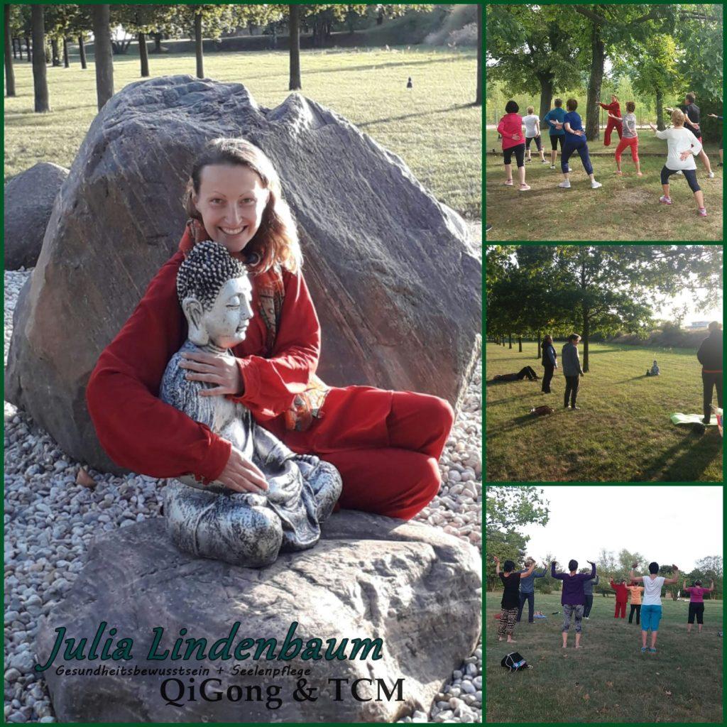 Julia Lindenbaum QiGong & TCM Großräschener See Senftenberger See Lausitzer Seenland Entspannung Gesundheit Wohlbefinden
