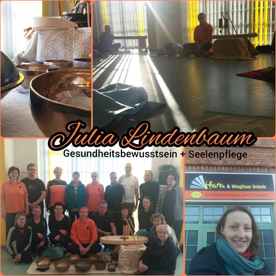 Julia Lindenbaum QiGong TCM Calau Großräschen Senftenberg Bewegung Entspannung Meditation