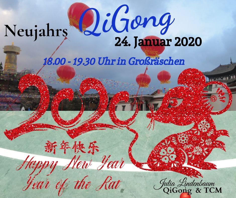 Neujahrs QiGong, Julia Lindenbaum, Großräschen, Januar 2020, chinesisches Jahr der Ratte