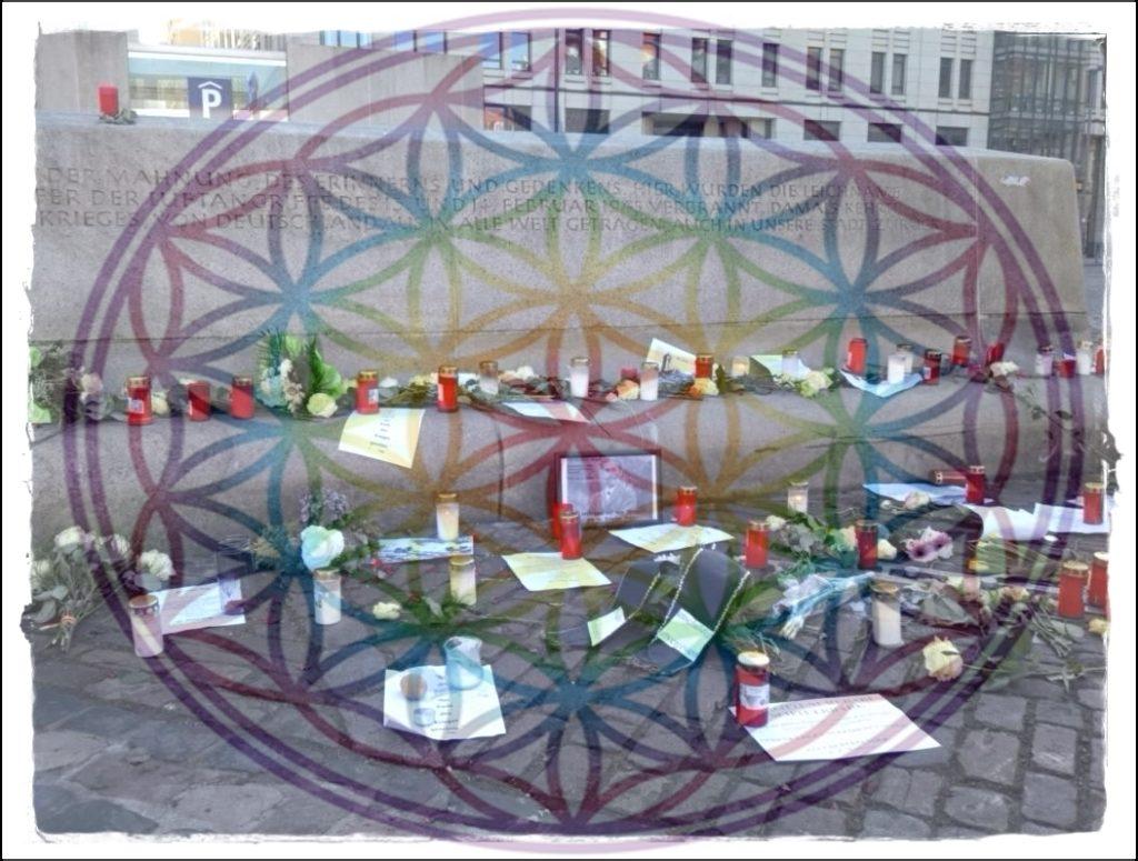 Julia Lindenbaum Dresden 75 Jahre 2020 Bombenangriff QiGong Großräschen Calau Senftenberg TCM Dorn-Breuß Energiearbeit Liebe Dankbarkeit Veränderung