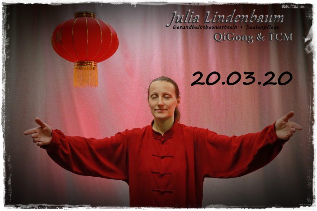 Julia Lindenbaum QiGong Entspannung Meditation Bewegung Tagundnachtgleiche